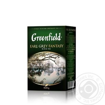 Чай чорний Greenfield Earl Grey Fantasy с бергамотом 100г - купити, ціни на Метро - фото 2