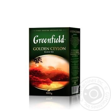 Greenfield Golden Ceylon Black Tea - buy, prices for Novus - image 2