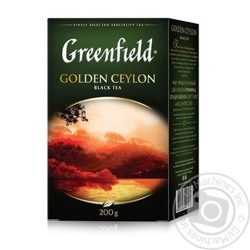 Greenfield Golden Ceylon black tea 200g - buy, prices for MegaMarket - image 2