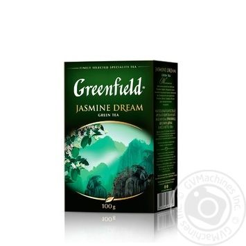 Чай Greenfield Jasmine Dream зелений з жасміном листовий 100г - купити, ціни на Novus - фото 2