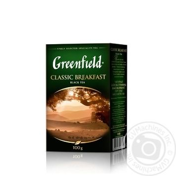 Greenfield Classic Breakfast Black Tea - buy, prices for Novus - image 3