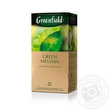 Greenfield Green Melisa green tea 25pcs*1.5g - buy, prices for MegaMarket - image 2