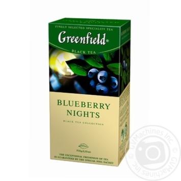 Чай черный Greenfield Blueberry Nights 25шт*1,5г 37,5г - купить, цены на Восторг - фото 2
