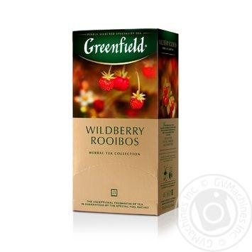 Greenfield Wildberry Rooibos herbal tea 25pcs*1.5g - buy, prices for Metro - image 2