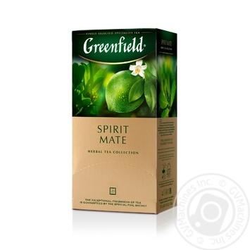 Чай травяной Greenfield Spirit Mate 25*1,5 г - купить, цены на Метро - фото 2