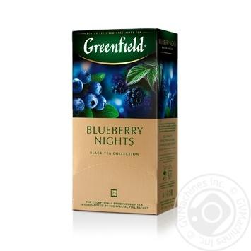 Чай черный Greenfield Blueberry Nights 25шт*1,5г 37,5г - купить, цены на Восторг - фото 8