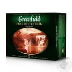 Greenfield English Edition black tea 50pcs 100g