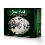 Greenfield Earl Grey Fantasy black tea 50pcs 100g
