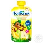Hamanek Pear with Banana Puree 120g