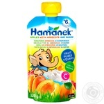 Hamanek apple-cottage cheese for children from 6 months puree 120g