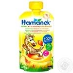 Hamanek peach-banana for children from 4 months puree 120g