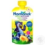 Hamanek Pear with Plum Puree 120g