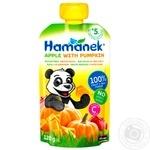 Hamanek Pear with Pumpkin Puree 120g