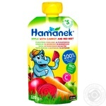 Puree Hamanek beetroot with carrot for children 120g