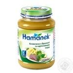Puree Hamanek potato for children from 5 months 190g glass bottle