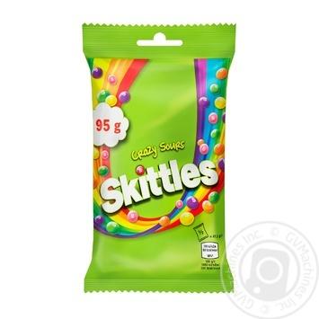 Драже Skittles Кисломикс 95г - купить, цены на МегаМаркет - фото 1