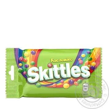 Драже Skittles Кисломикс 38г - купить, цены на МегаМаркет - фото 1