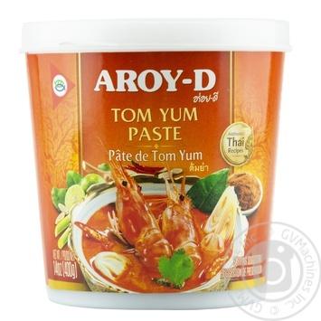 Паста Aroy-D Карри Том Ям 400г - купить, цены на Novus - фото 1