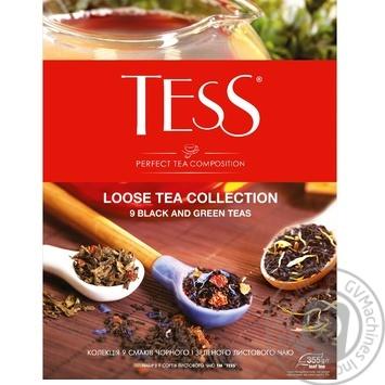Набор листового чая Tess 9 видов 355г - купить, цены на Ашан - фото 1