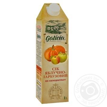 Сок Galicia яблочно-тыквенный с мякотью 1л - купить, цены на МегаМаркет - фото 1