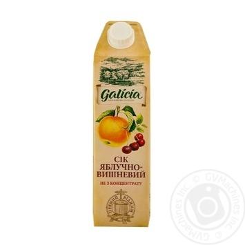 Сок Galicia яблочно-вишневый 1л - купить, цены на Novus - фото 1