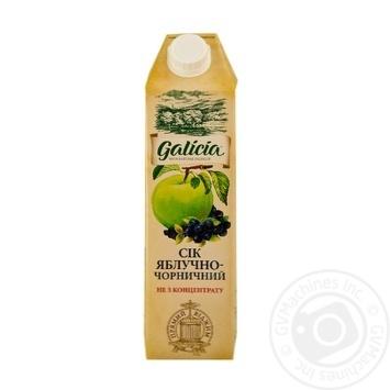 Сік Galicia яблучно-чорничний 1л - купити, ціни на Метро - фото 1