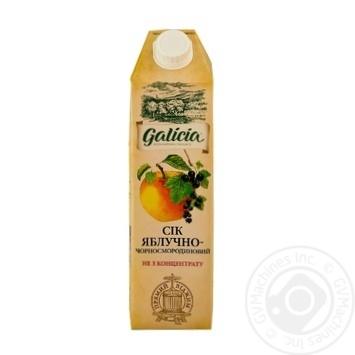 Сок Galicia яблочно-черносмородиновый 1л - купить, цены на МегаМаркет - фото 1