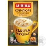 Mivina Garyacha kruzhka ready-to-cook with croutons soup 12g - buy, prices for MegaMarket - image 2