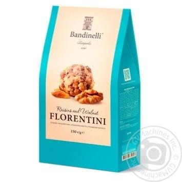 Печенье Bandinelli Флорентини с изюмом и грецким орехом 150г
