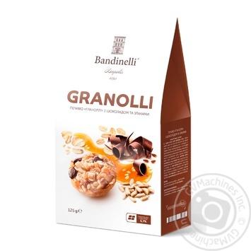 Печенье Palazzo Bandinelli Granolli с шоколадом и злаками 125г