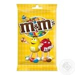 M&M's Dragee Сovered With Colored Crispy Glaze With Peanuts And Milk Chocolate 125g