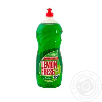Lemon Fresh Lime Liquid for washing dishes 1,5l - buy, prices for Auchan - photo 1