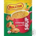 Суп Роллтон куриный с лапшой саше 17г