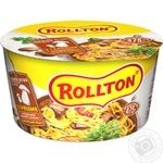 Rolton Egg noodles with instant mushrooms 75g
