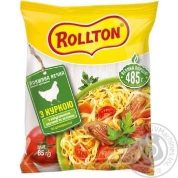 Rollton Homemade Chicken Noodles 85g - buy, prices for MegaMarket - image 1