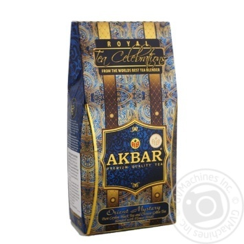Akbar Orient Mystery Black and Green Tea Blended - buy, prices for Novus - image 1