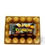 Яйцо куриное Ясенсвит Селянские С1 20шт - купить, цены на Novus - фото 1