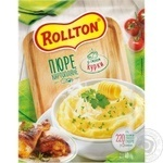 Rollton ready-to-cook with chicken filling potato puree 40g