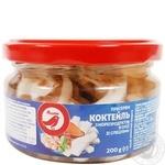Коктейль из морепродуктов Ашан со специями в масле 200г