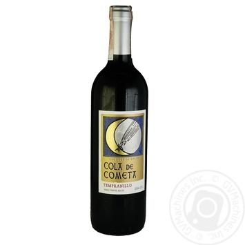 Cola de Cometa Tempranillo wine red dry 12% 0,75l - buy, prices for CityMarket - photo 1