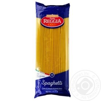 Макаронные изделия Pasta Reggia Spaghetti 1кг - купить, цены на Novus - фото 1