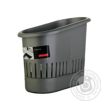 Сушилка для столового приладдя Plast Team Блакитна - купити, ціни на Novus - фото 1