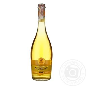 Вино Deus Muscat Patras Cavino біле 0.75л - купити, ціни на Ашан - фото 2