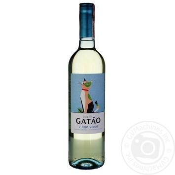 Вино Gatao Vihno Verde біле напівсухе 9% 0.75л - купити, ціни на CітіМаркет - фото 2