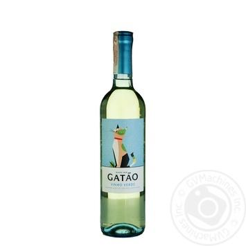 Вино Gatao Vihno Verde белое полусухое 9% 0.75л