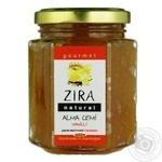 Zira Natural apple jam with vanilla 200g