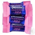 Конфеты Millennium Mousse Черника весовые - купить, цены на Ашан - фото 1