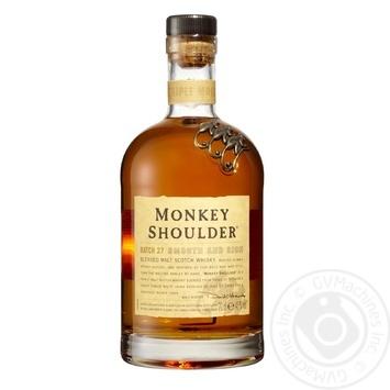 Виски Monkey Shoulder 40% 0,7л - купить, цены на СитиМаркет - фото 1