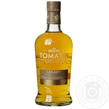 Tomatin Legacy Whiscey 43% 0,7l - buy, prices for CityMarket - photo 1