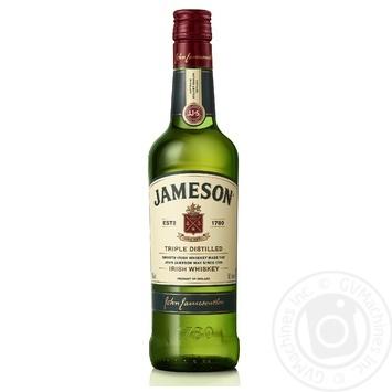Виски Jameson 40% 0,5л